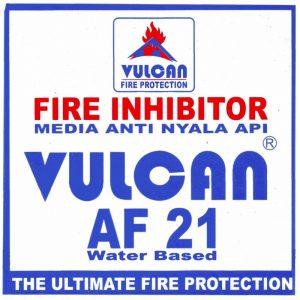 jual Vulcan AF 21 Asli fire inhibitor AF21 Membuat barang jadi tahan api bergaransi bersertifikat