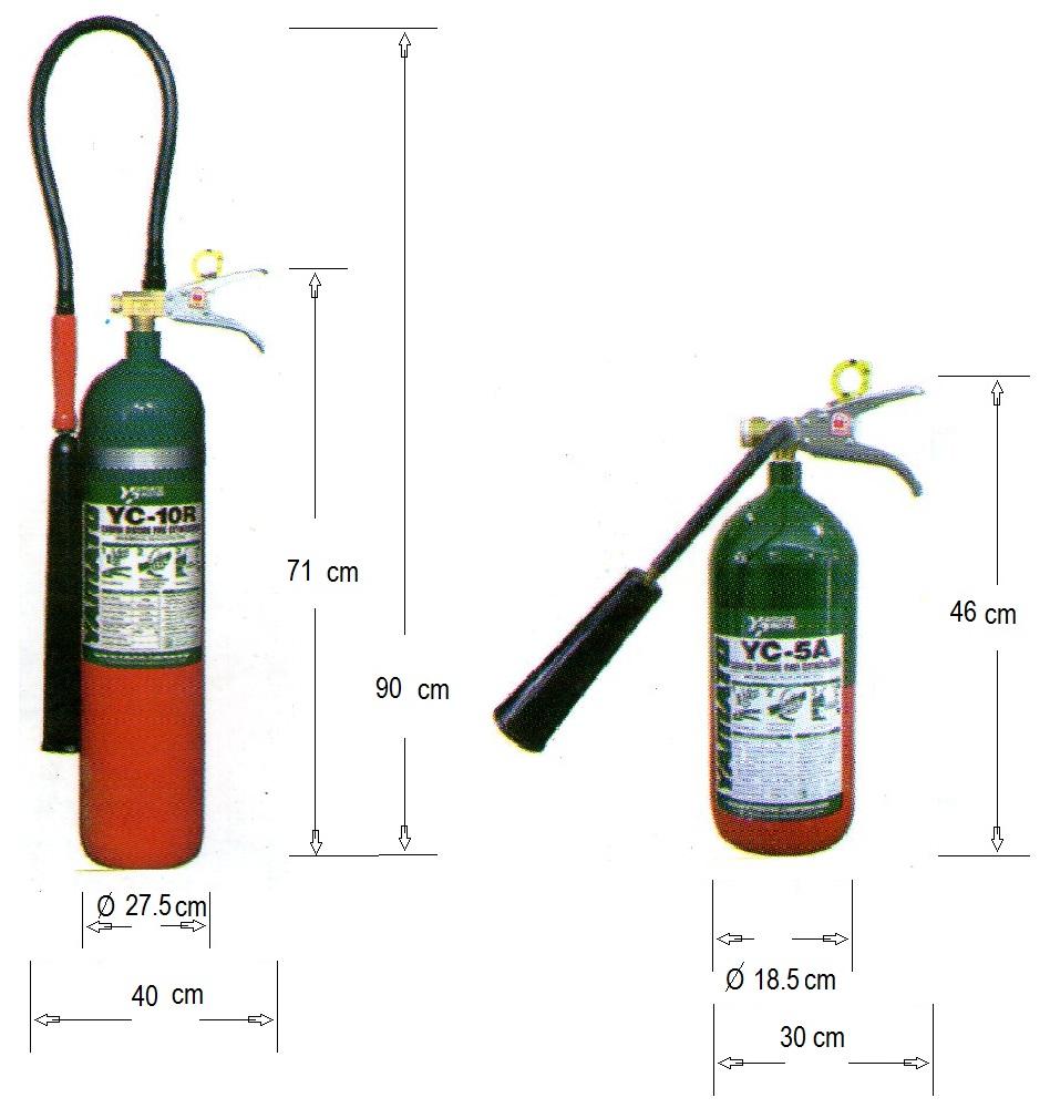 tabung CO2 Yamato adalah Perusahaan yang mengeluarkan beberapa jenis Alat Pemadam Api :