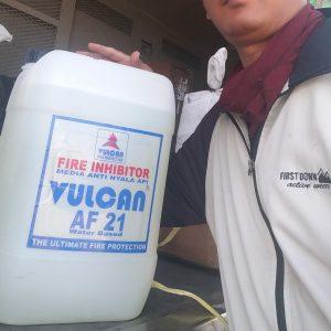 jual Vulcan AF 21 fire inhibitor AF21 Membuat barang jadi tahan api